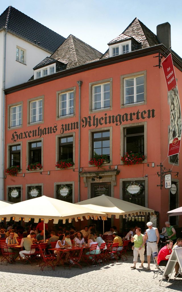 Tag des offenen Denkmals 2019_Haxenhaus Köln Altstadt Terrasse