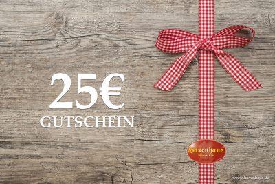 Haxenhaus Gutschein ab 25€