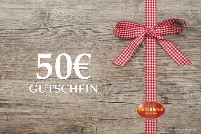 Haxenhaus Gutschein 50€