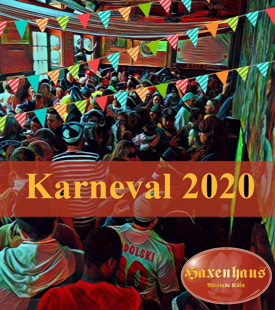 Karneval 2020 im Haxenhaus